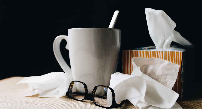 Training mit Erkältung